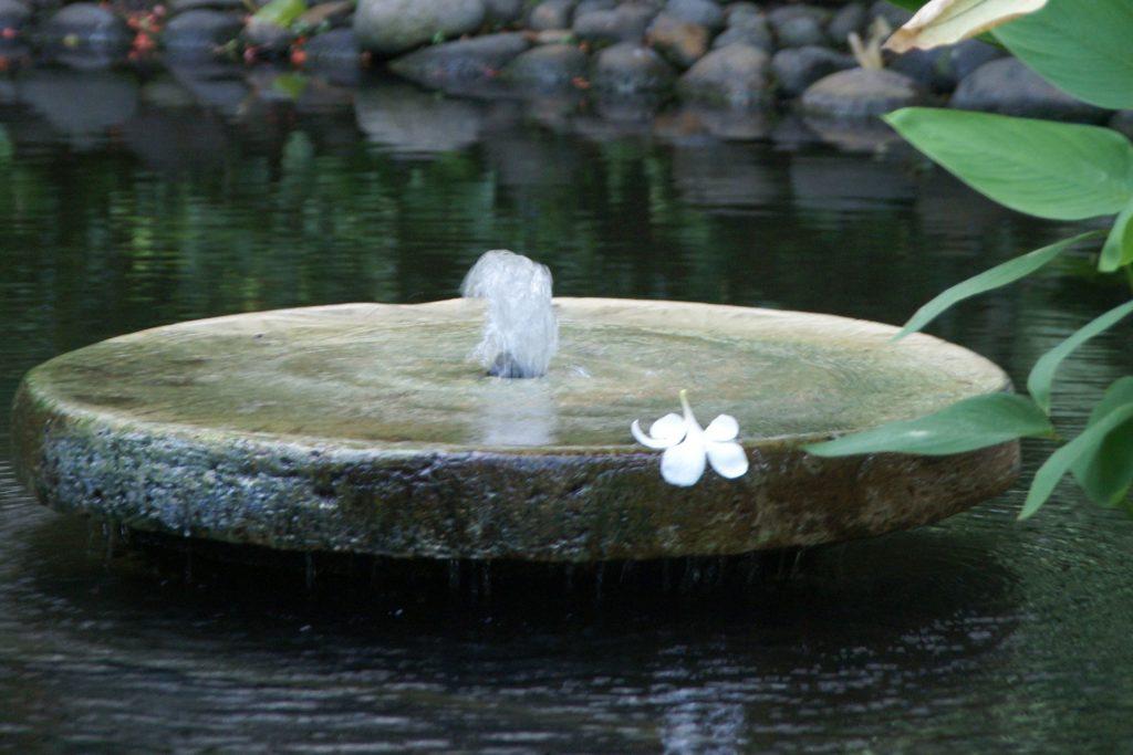 Foto von einem Brunnen
